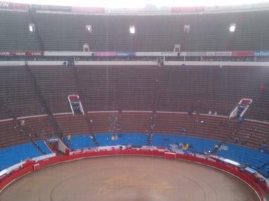 La Mexico fue un paramo de arte y desolacion.