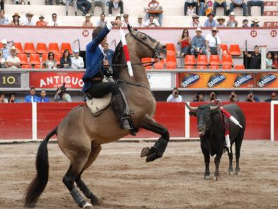 Pablo Hermoso. Foto Monumental de Ags.