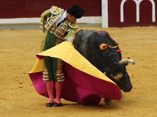Poco pudo demostrar el mexicano Joselito Adame.