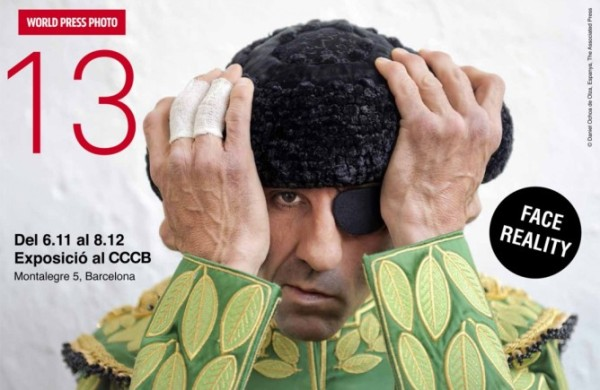 El polémico cartel con la imagen del torero Juan José Padilla- (WORLD PRESS FOTO - DANIEL OCHOA DE OLZA)