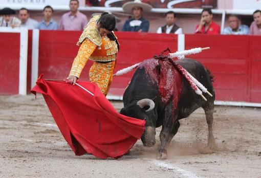 No tuvo suerte Morante y la gente estuvo en su contra toda la tarde.