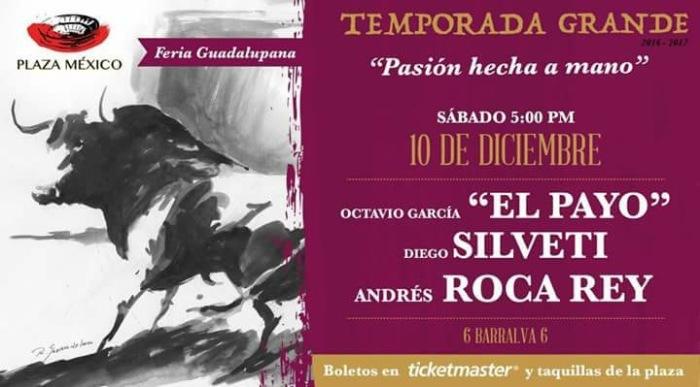 Octava de Temporada. Barralva para el Payo, una vez más en la segunda tarde de Roca Rey y la única de Silveti.