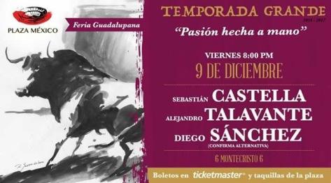 Choque entre Castella y Talavante a la espera de Montecristo.