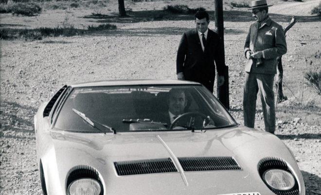Lamborghini y Eduardo Miura se conocieron en persona