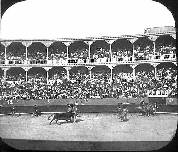 PLAZA DE TOROS HAVANA CUBA 1898