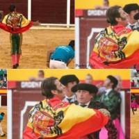 Piden retirar la medalla de Cádiz a Padilla por lucir una bandera franquista