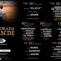 Carteles Plaza México 2017 - 2018: Una Temporada Grande Austera, sin Gestas y con Poco Brillo