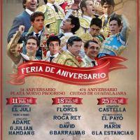 Nuevo Progreso de Guadalajara: Corridas de Toros - Temporada 2018