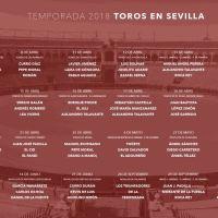 Sevilla Feria de Abril 2018: Corridas de Toros / Temporada