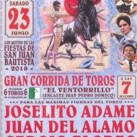 Sergio Flores y José Adame mañana en Rozas de Puerto Real (España) / ¿Que pasa con la fiesta brava en México?