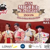 San Miguel El Alto 2018: Corridas de Toros
