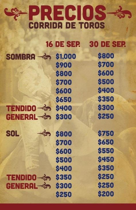 Con estos precios en Puebla y con la pobre oferta del cartel es normal que la gente no acuda al Relicario.