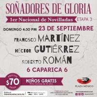 Solo para Villamelones: Nacional de Novilladas en la Plaza México
