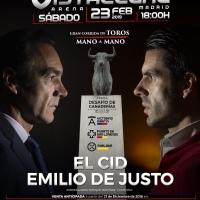 El Cid y Emilio de Justo mano a mano en Vistalegre