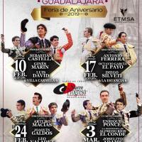 CARTELES: Guadalajara... Guadalajara... Temporada 2019 - LII Aniversario Plaza Nuevo Progreso.