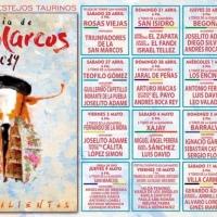CARTELES: Feria de San Marcos 2019 - Corridas de Toros