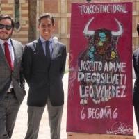 Cartel de tronío en Cedral: Joselito Adame, Diego Silveti y Leo Valadez con Begoña