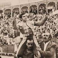 Manolo Martínez, en el campo español.