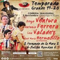Regresan las Corridas de Toros desde la Plaza México al Canal Unicable con Heriberto Murrieta.