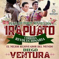 """Diego Ventura encabeza la """"Corrida Revolucionaria 2019"""" en Irapuato. — DE SOL Y SOMBRA"""