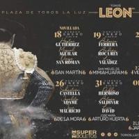 Feria de León 2020: Corridas de Toros.