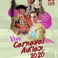 Carnaval Autlán 2020 - Corridas de Toros.