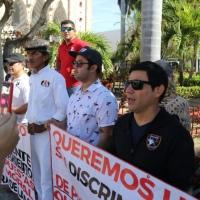 Forcados de Mazatlán amenazan con huelga de hambre. El Alcalde Benítez Torres se lava las manos.