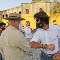 Jerez: El mundo del toro se reivindica con un paseíllo por la ciudad.