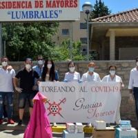 'Toreando al Covid-19' entrega material de protección a las residencias de mayores.