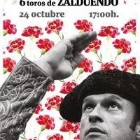 Badajoz: Encerrona de Antonio Ferrera con toros de Zalduendo el próximo 24 de octubre.