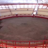 """Remodelación de la plaza de toros """"La Taurina"""" de Huamantla registra un avance del 80%"""