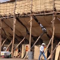'La Petatera' avanza en su construcción, pero no recibirá público ni habrá corridas de toros.