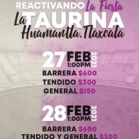 Huamantla: TOROS de COYOTEPEC para el mano a mano del domingo 28.