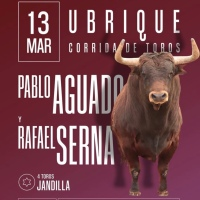 Ubrique: Primeras corridas televisadas del año.