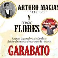 Cortijo Las Fuentes: Toros de Garabato para Arturo Macías y Sergio Flores.