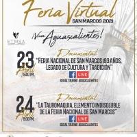 Anuncian Magno Cartel para el 25 de Abril en Aguascalientes y una Feria Virtual.