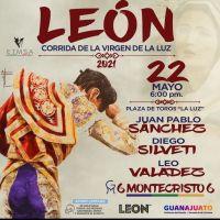 Gran Corrida de Toros para celebrar a la Virgen de la Luz en León Gto.