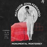 Monterrey: Debuta Eloy Cavazos como apoderado de Juan Fernando.