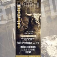Sábado 26 de junio: Escribano, Fortes y Serrano con toros de Victorino para la reapertura de Las Ventas.