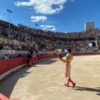 Nîmes: Llamada de atención de El Rafi.