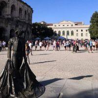 Nîmes: Carteles Feria de la Vendimia 2021.