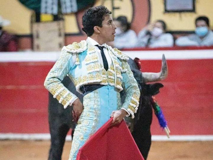 Leo Valadez en su pasada actuación en Huamantla.