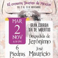 Feria Taurina de #Tlaxcala 2021: Tres corridas que apuestan a la veteranía y juventud.
