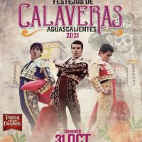 """Dos Grandes Festejos  para el """"Festival de Calaveras 2021"""" en #Aguascalientes con la presentación de Emilio de Justo."""